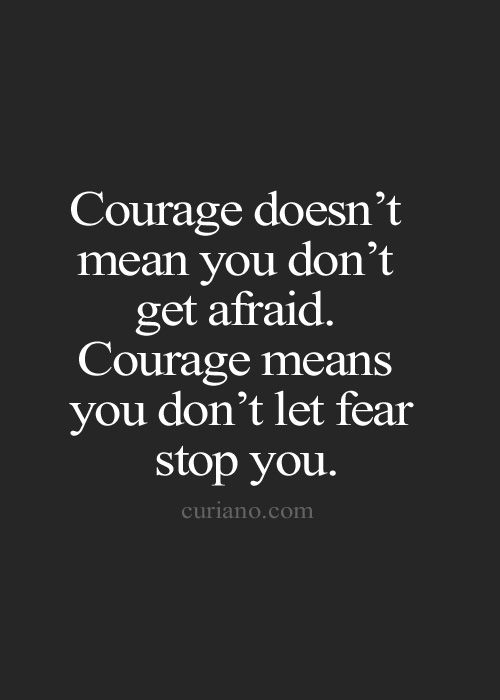 Quotes About Taking Chances : Do what you want! Don't let fear stop you! You will surprise yourself and ot…