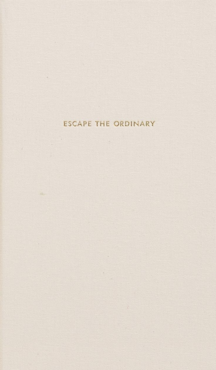 Kate Spade Quotes Kate Spade New York 'escape The Ordinary' Journal  Nordstrom