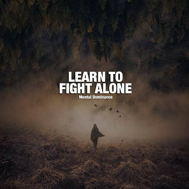 Sad Boy Alone Quotes: Positive Quotes : Learn To Fight Alone....