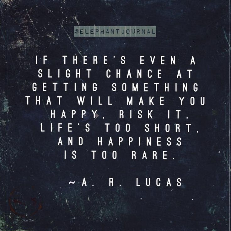 Quotes About Taking Chances : Too rare….