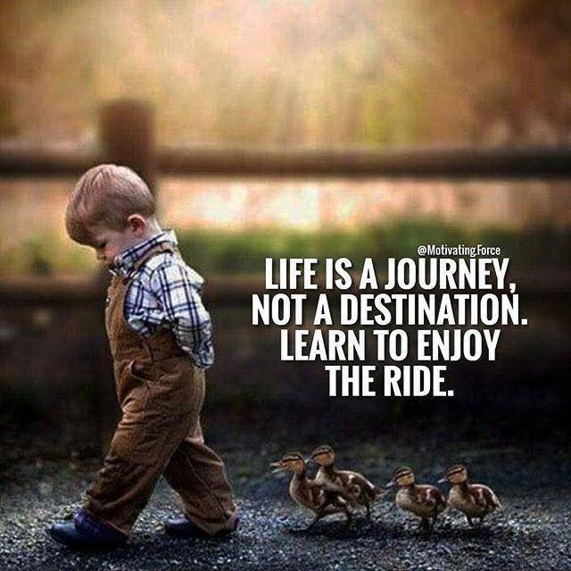 Positive Quotes Life Is A Journey Not A Destination Hall Of