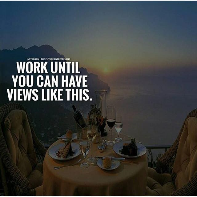 Positive Quotes Work Until You Can Have Views Like This Hall