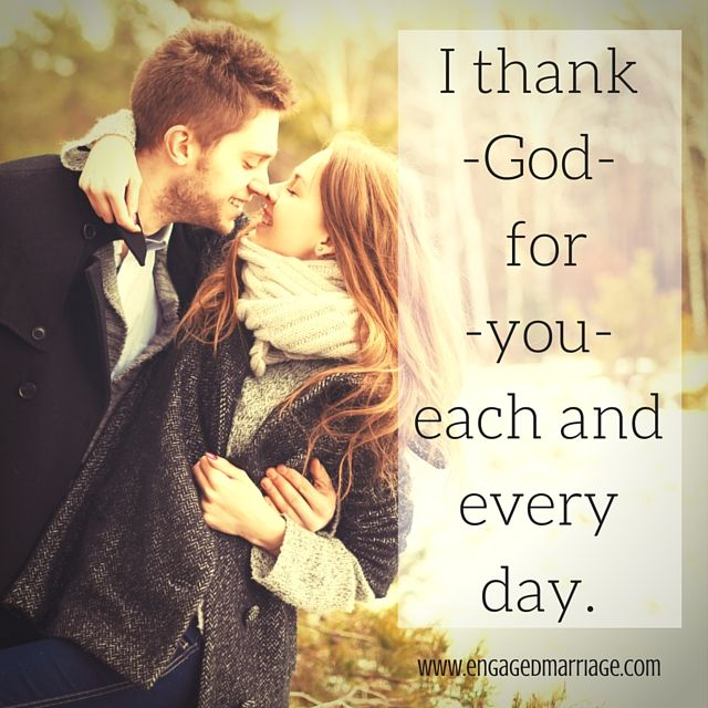 Godly Love For Each Other: Quotes About Love : I Thank God For You Each And Every Day