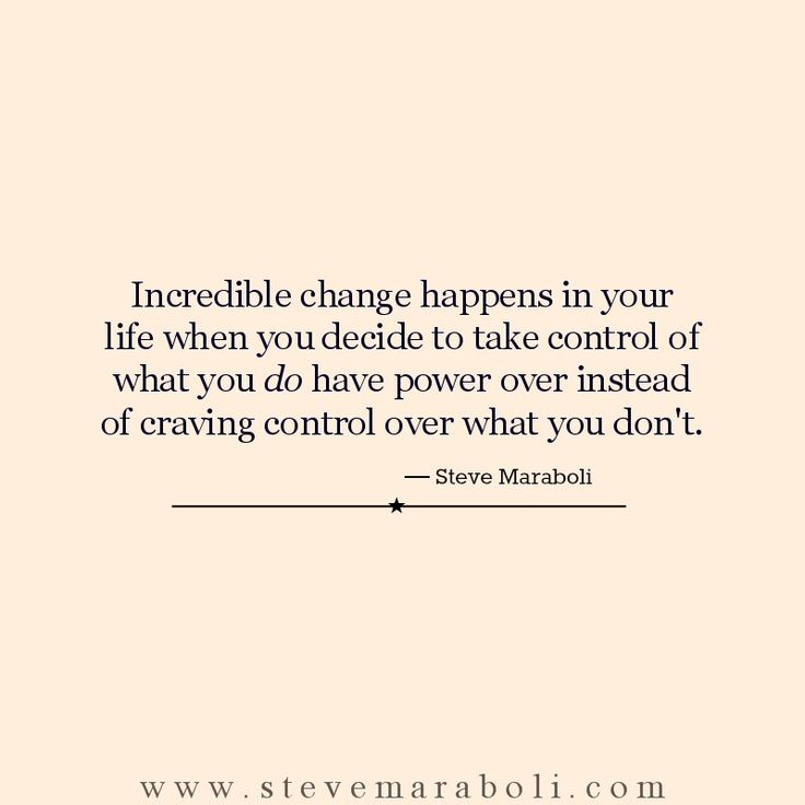 Positive Quotes Incredible Change Happens In Your Life When You