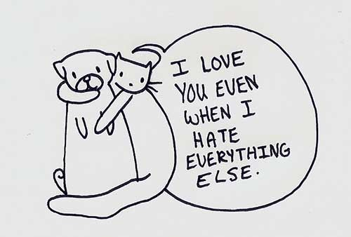 I Hate Everything About You Quotes: Quotes About Love : I Love You Even When I Hate Everything