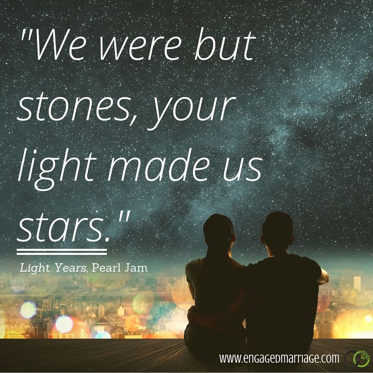 "21 Best Images About Love It Hallways On Pinterest: Quotes About Love : ""We Were But Stones, Your Light Made"