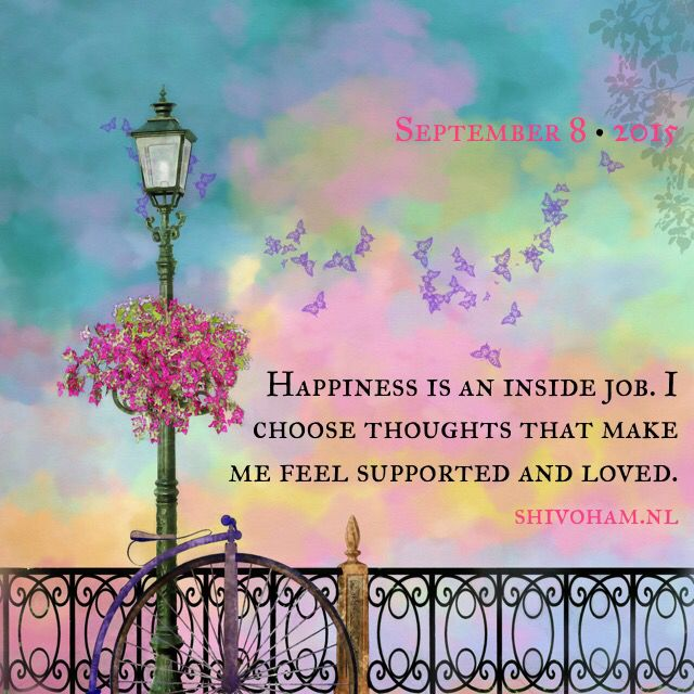 Happiness Is An Inside Job ♡ Www.shivohamyoga.nl/ ॐu2026