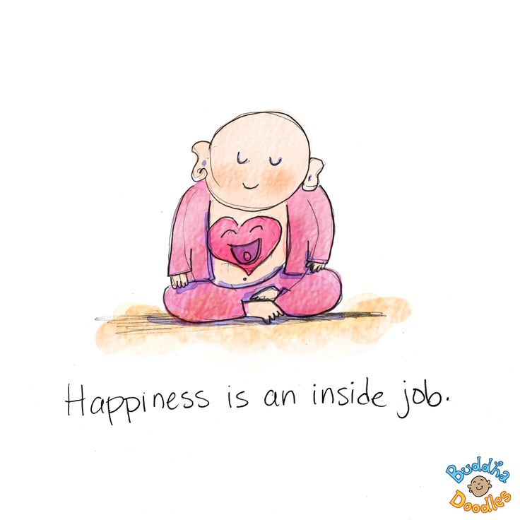 Quotes Of The Day U2013 Description. *Todayu0027s Buddha Doodle* U2013 Inside Job ~ Happiness  Is An ...