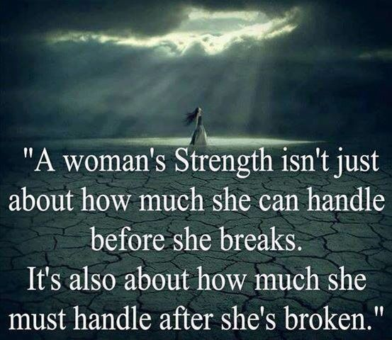 Breaking Up And Moving On Quotes You Can Say That She Is A Strong