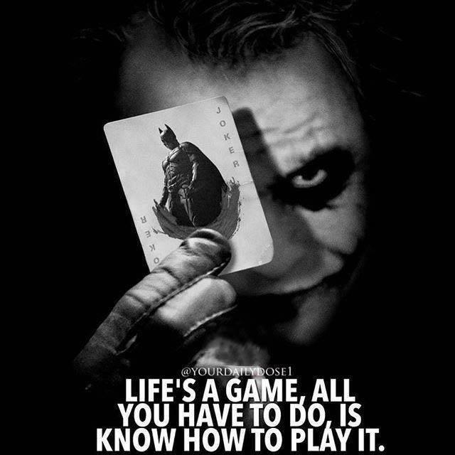 Inspirational Quotes About Play: Positive Quotes : Life's A Game All You Have To Do Is Know