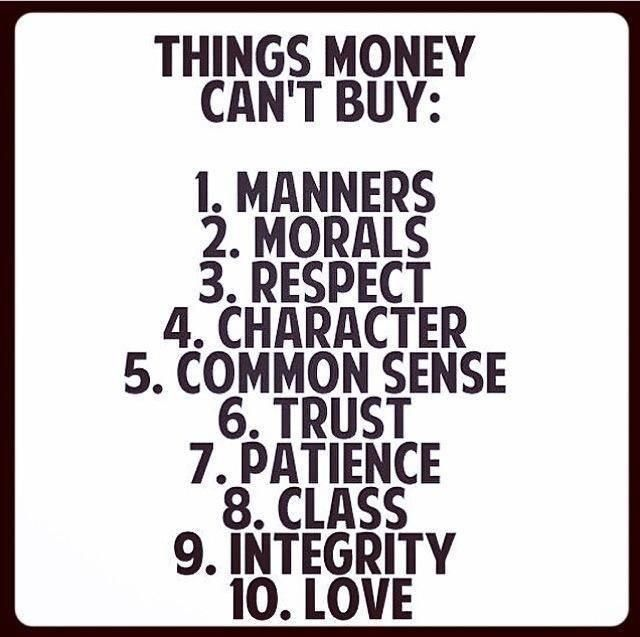 Inspiring Quotes About Life Things Money Cant Buy Hall Of