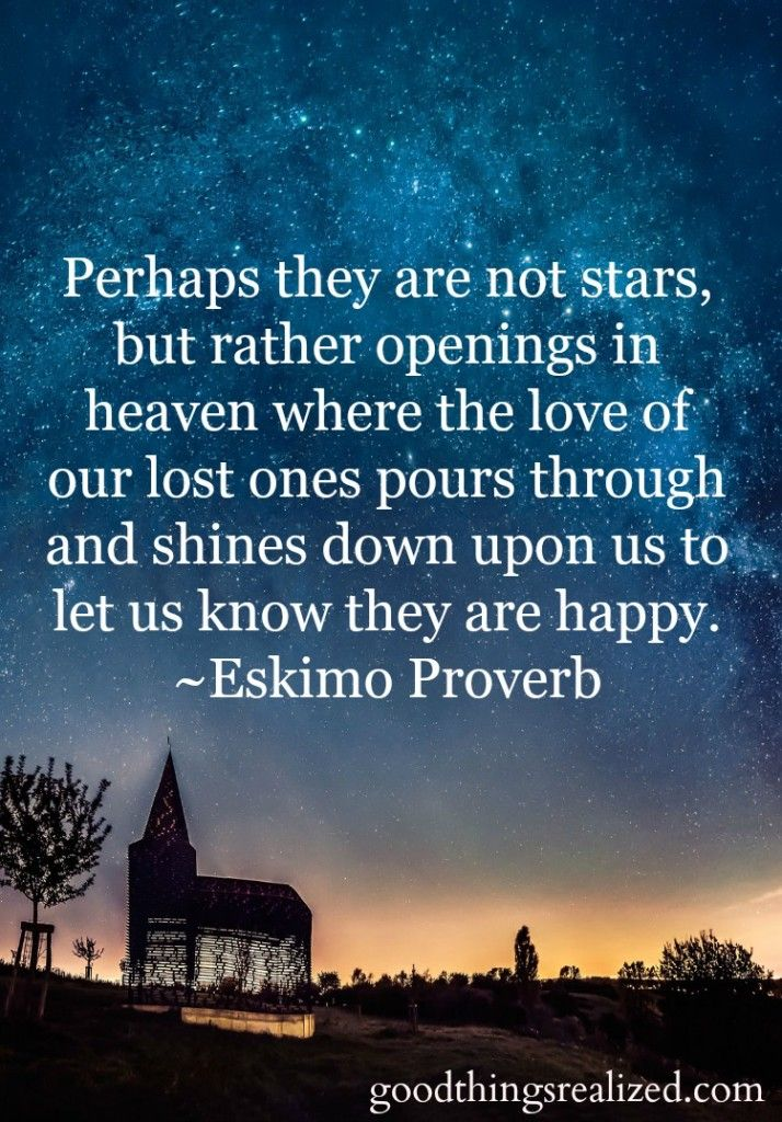 Positive Quotes Perhaps They Are Not Stars But Opening In Heaven