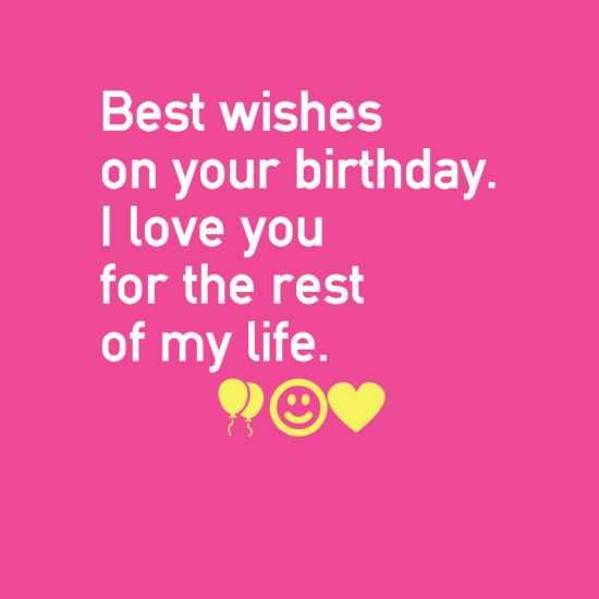Love Happy Birthday Wishes Cards Sayings: Love Quotes : Happy Birthday I Love You Wishes