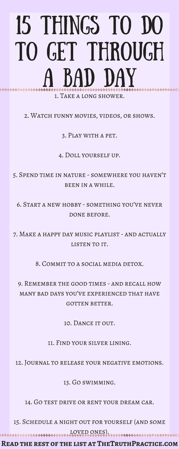 Positive Quotes Click The Pin For All 25 Ways To Get Through A Bad