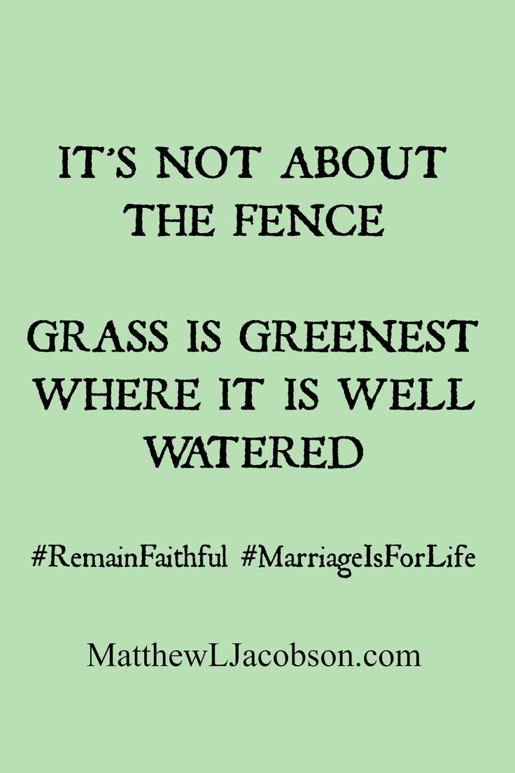 Fence Quotes Quotes About Love  The Grass Isn't Greener On The Other Side Of