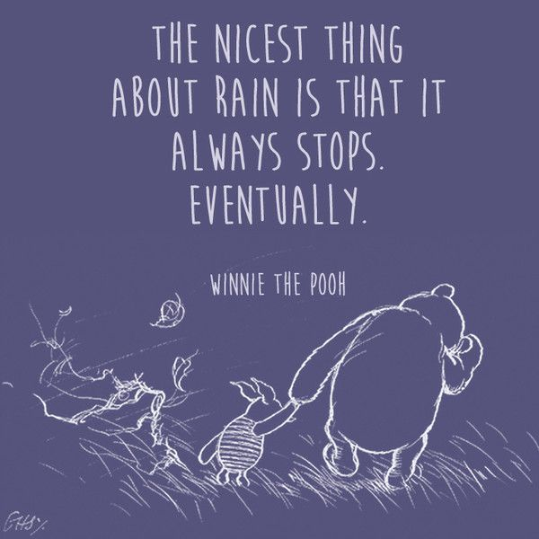 Positive Quotes On Bad Days Words Of Wisdom From Winnie The Pooh