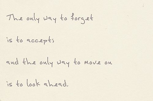 Breaking Up And Moving On Quotes Moving On Is Not About Not