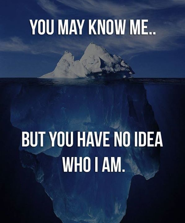 Positive Quotes You May Know Me But You Have No Idea Who I Am