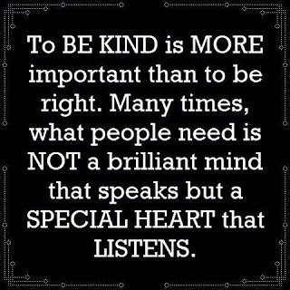 Inspiring Quotes About Life Sometimes Being Kind Is Better Than