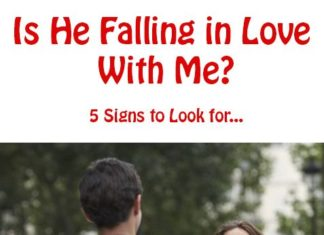 Love Quotes : Is He Falling In Love With Me? 5.