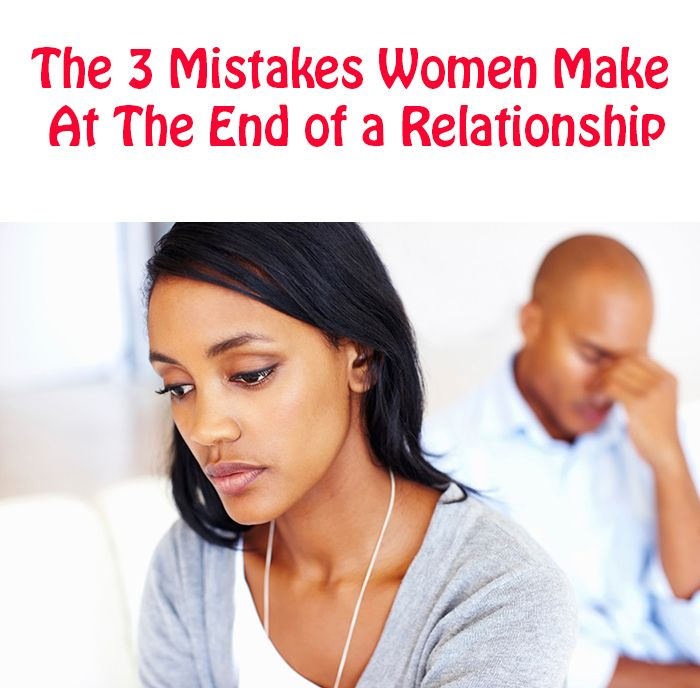 women and relationship mistakes
