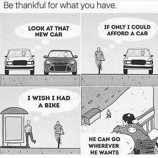 Positive Quotes Be Thankful For What You Have Hall Of