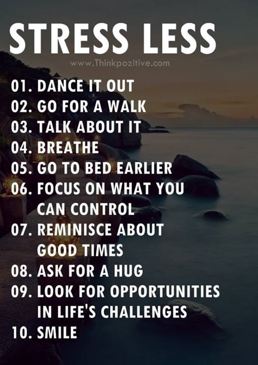 Stressless Quotes: Positive Quotes : Stress Less..... - Hall Of Quotes