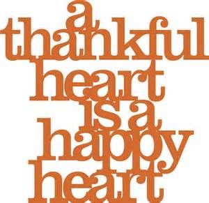 Quotes About Happiness Gratitude A Thankful Heart Is A Happy