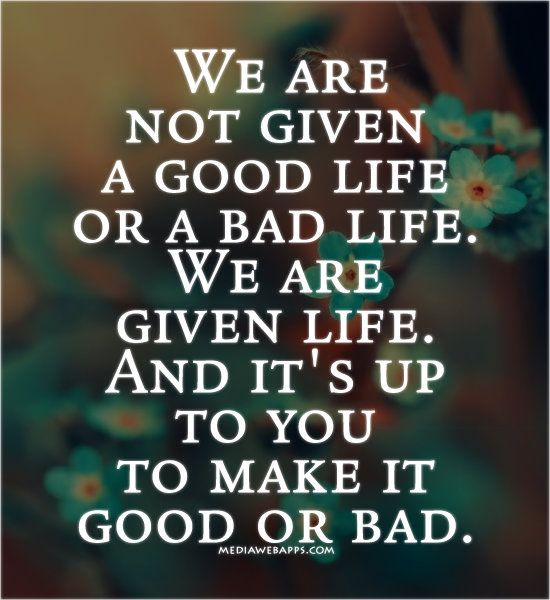 Great Quotes About Life Beauteous Best 25 Bad Life Quotes Ideas On Pinterest  Bad Life Letting