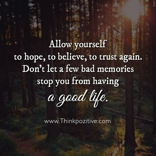Quotes Hope Impressive Positive Quotes  Allow Yourself To Hope To Believe And To Trust