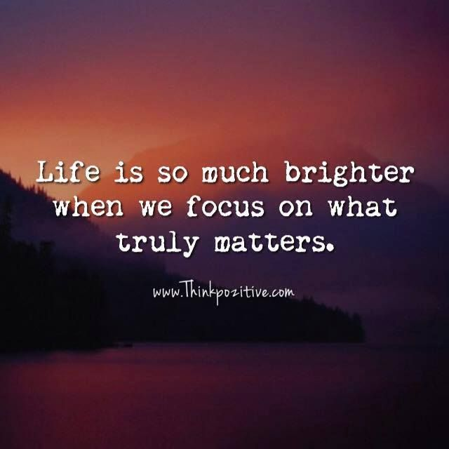 Positive Quotes Of Life Interesting Positive Quotes  Life Is So Much Brighter When We Focus On What