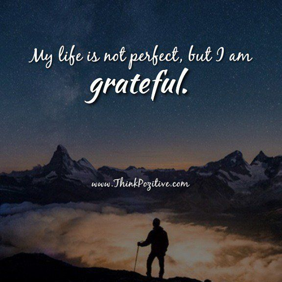 Life Positive Quotes Endearing Positive Quotes  My Life Is Not Perfect But I Am Gratefulvia