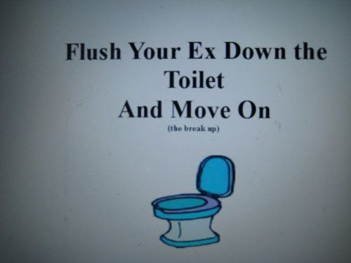 Breaking Up And Moving On Quotes : Flush Your Ex Down The