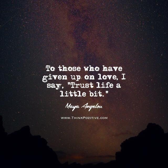 Giving up on the love of your life quotes