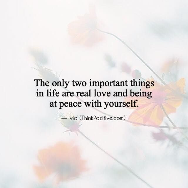 Important Life Quotes Classy Positive Quotes  The Only Two Important Things In Life Are Real