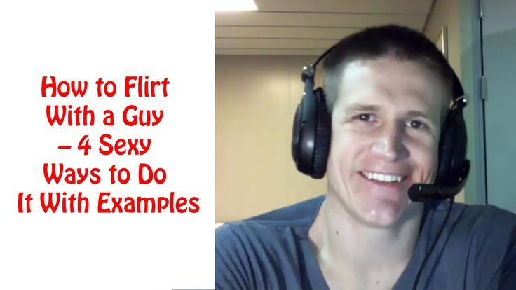 ways to flirt with a guy friend