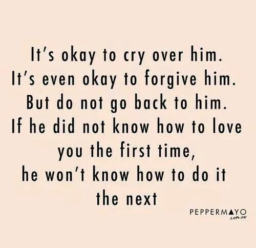 Move On Quotes For Him: Moving On Quotes : Never Going Back To Him... Two Whole