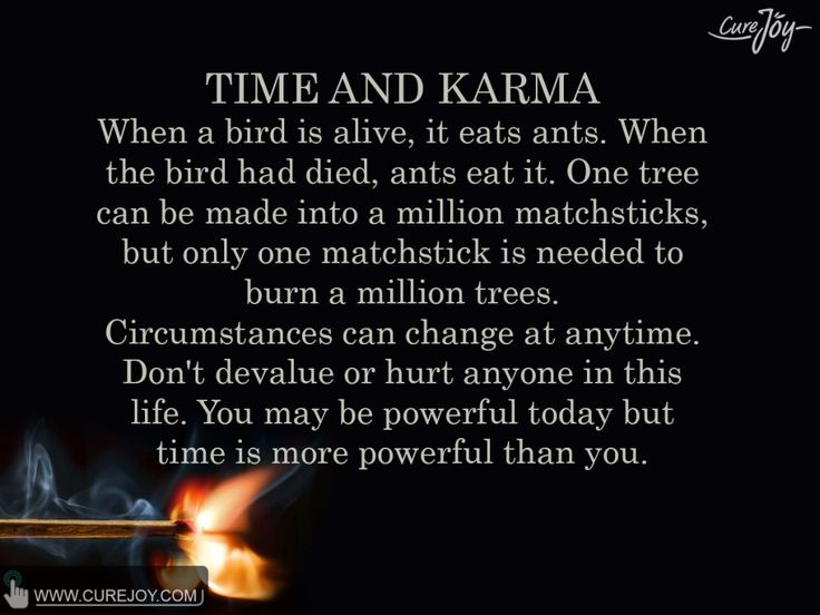 Positive Quotes Quote Time And Karma Hall Of Quotes Your