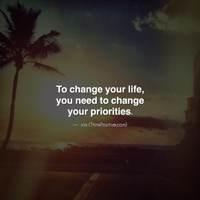 how to know if you need a life change