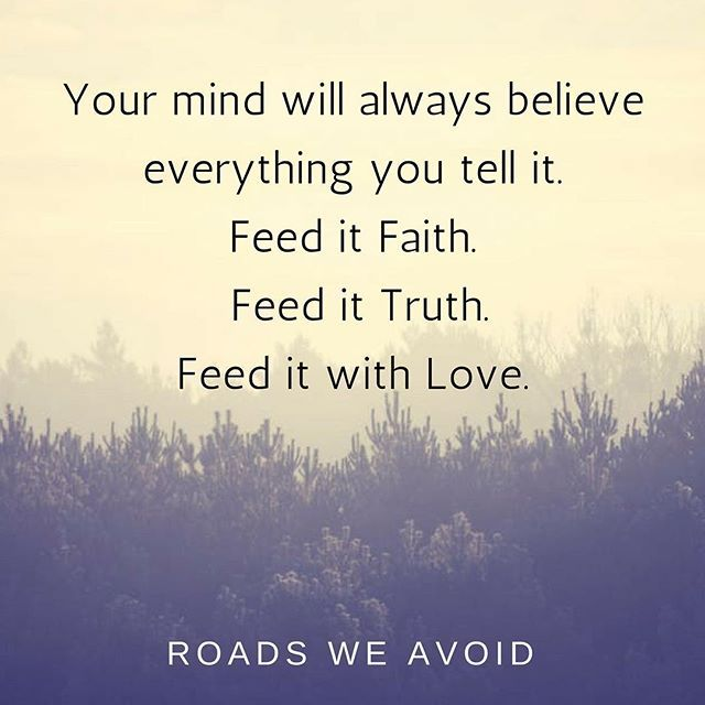Faith Quotes Positive Quotes  Your Mind Will Always Believe Everything You .