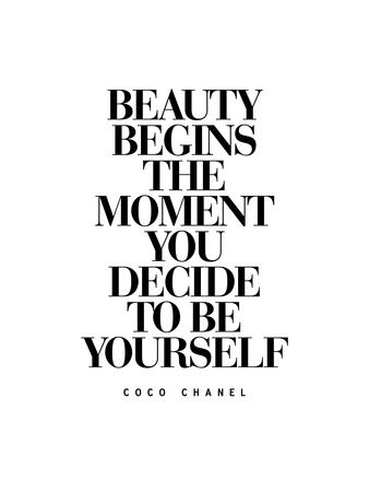 Positive Quotes Beauty Begins The Moment You Decide To Be