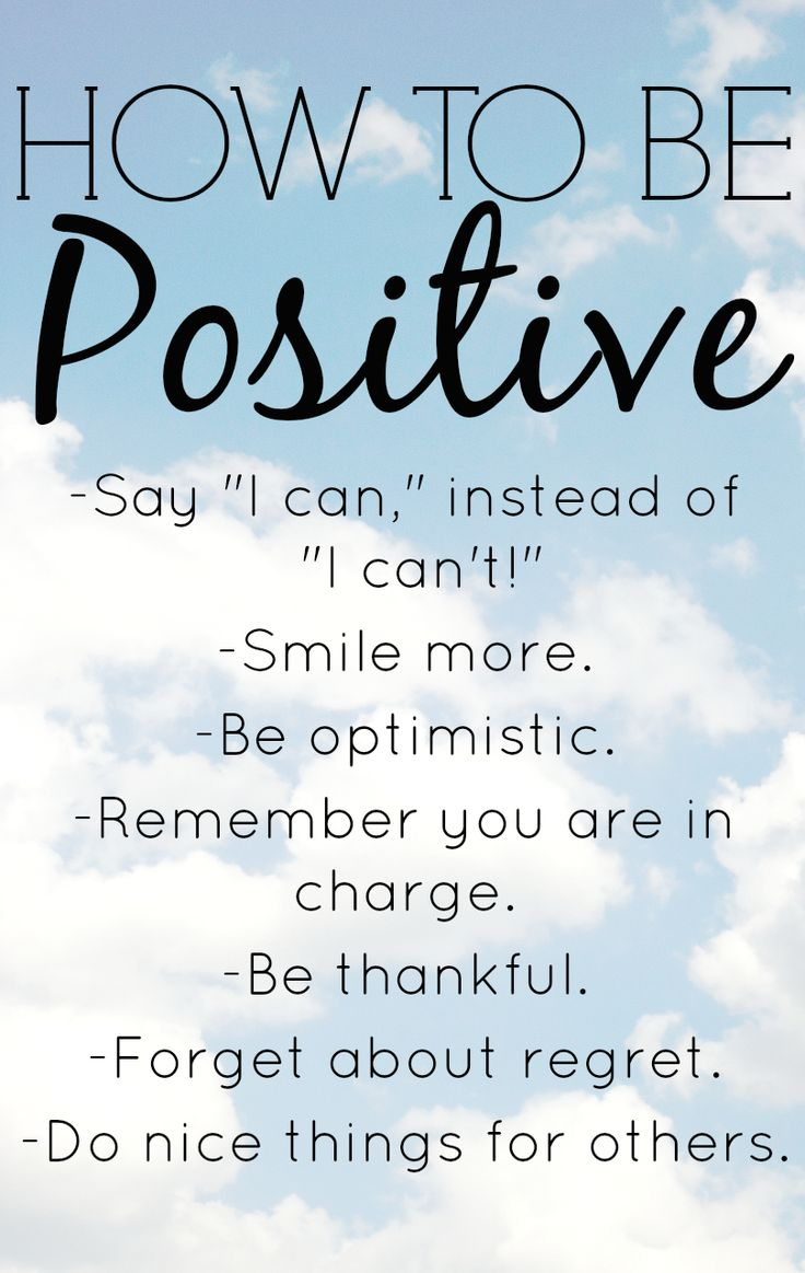 Quotes Positive Happy Quotes  How To Be Positive With 8 Positive Thinking