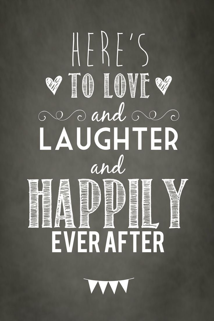 "Quotes About Love And Happiness Quotes About Happiness  Cute Poster ""here's To Love And Laughter"