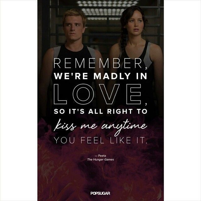 Hunger Game Quotes Awesome Quotes About Love  The Hunger Games Quotes You'll Fall In Love .