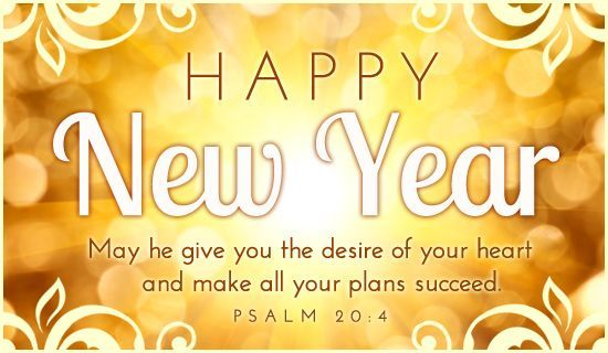 Happy New Year 2018 Quotes : New Year Relegious Wishes From Bible ...