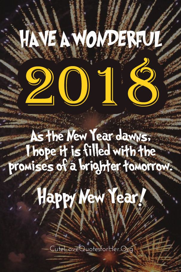 quotes of the day description wonderful new year