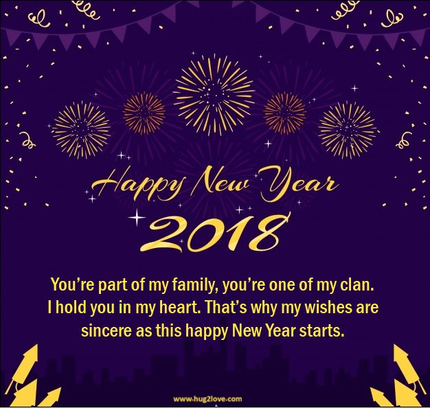 quotes of the day description new year 2018 messages caption image for family friends relatives