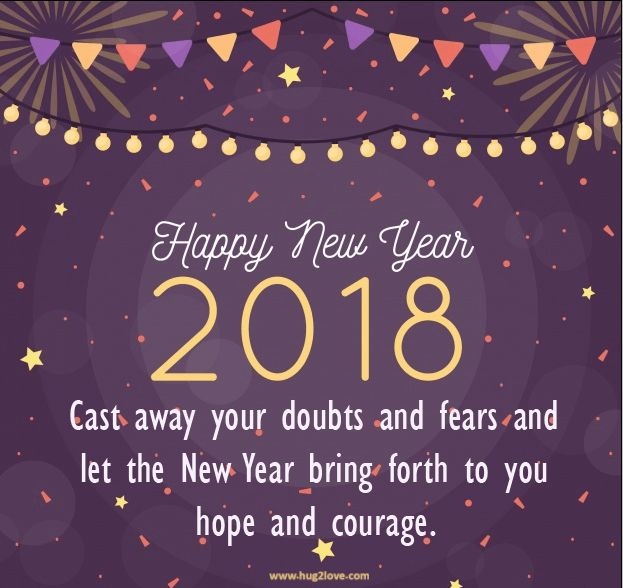 Happy New Year 2018 Quotes Best New Year 2018 Messages Short