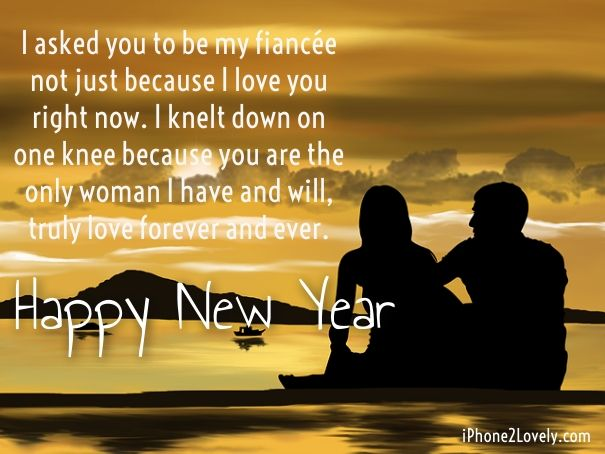 Love Quotes For Fiance Gorgeous Happy New Year 2018 Quotes  Greetings For Fiance  Hall Of Quotes