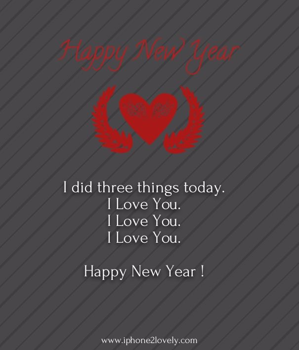 Happy New Year 2018 Quotes : Happy new year love poems ...